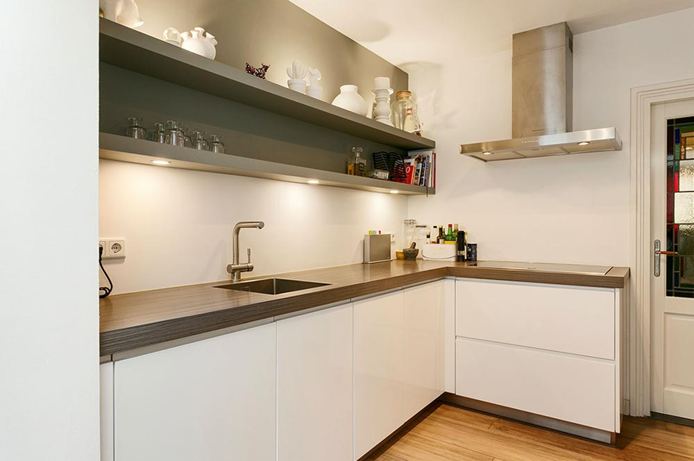 Keuken voor de verbouwing - Breed Totaalbouw