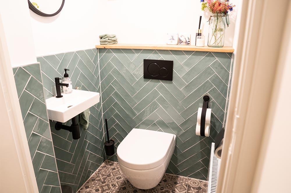 WC na de verbouwing - Breed Totaalbouw