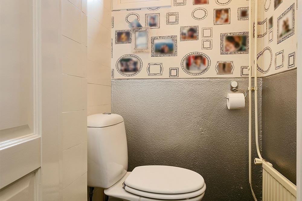 WC voor de verbouwing - Breed Totaalbouw